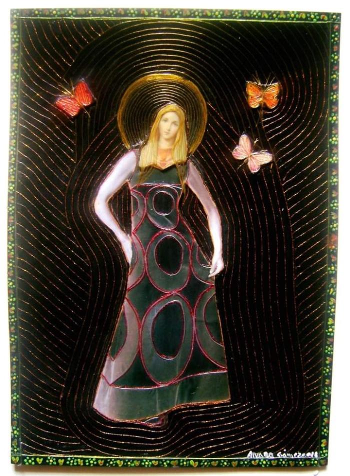 La Virgen del glamour