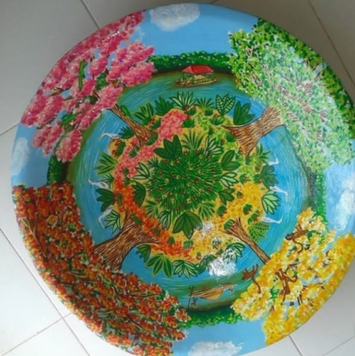 Batea mesa de centro